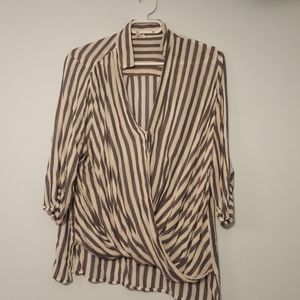 Ardene Striped Blouse